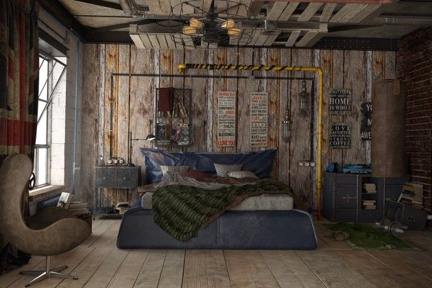 Urban Style For Apartment Interior Design Ideas Which Suitable To Enchanting Bedroom Accessories For Men Creative Property