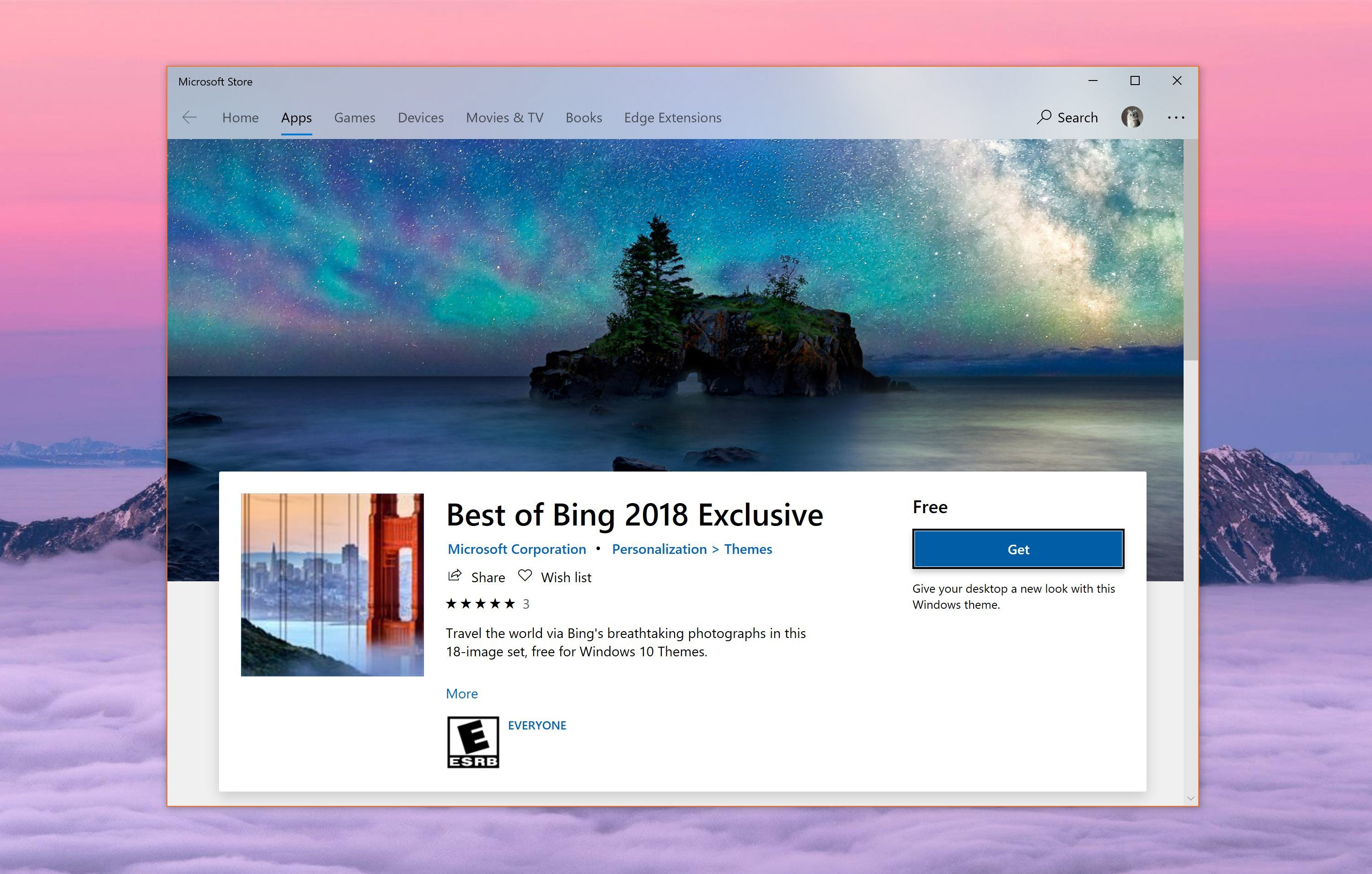 Microsoft Releases Another Wallpaper Pack For Windows 10 Best Of Bing 2018 Exclusive Now Up For Grabs Https News Softpedia Windows 10 Windows Microsoft