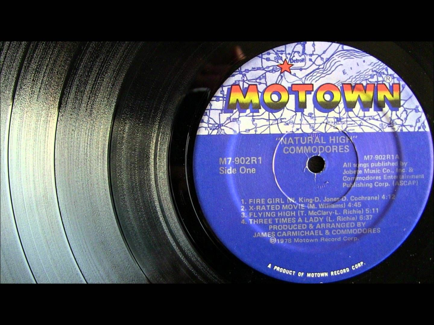 1978 Three Times A Lady The Commodores Vinyl Hd Beautiful Songs Commodores Vinyl