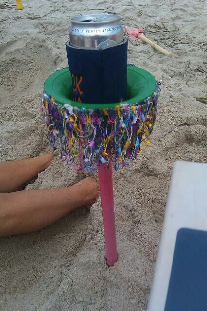 Koozie Holder Decorative Plungers Great For The Beach