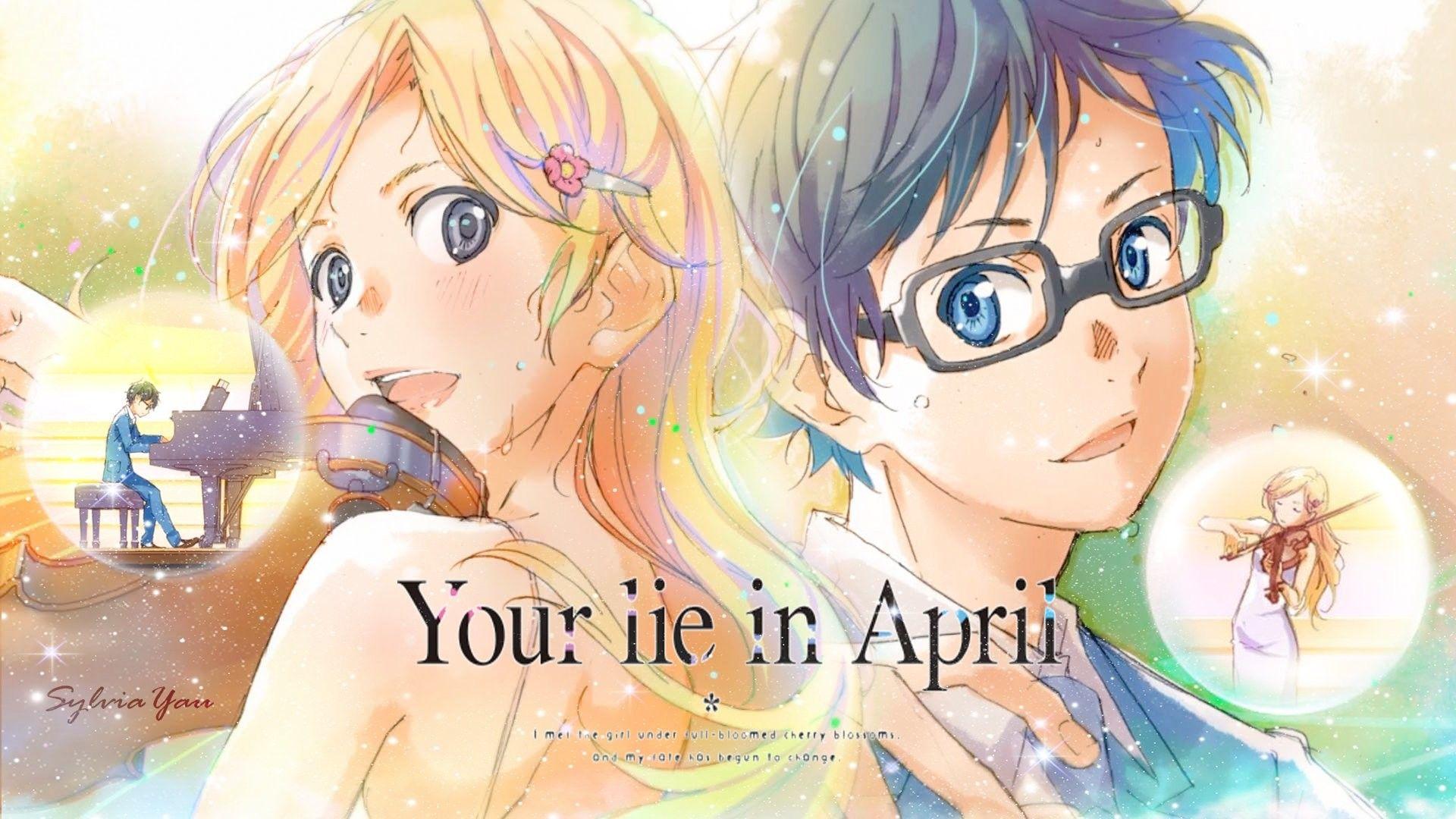1920x1080 Anime Your Lie in April Kaori Miyazono Kousei