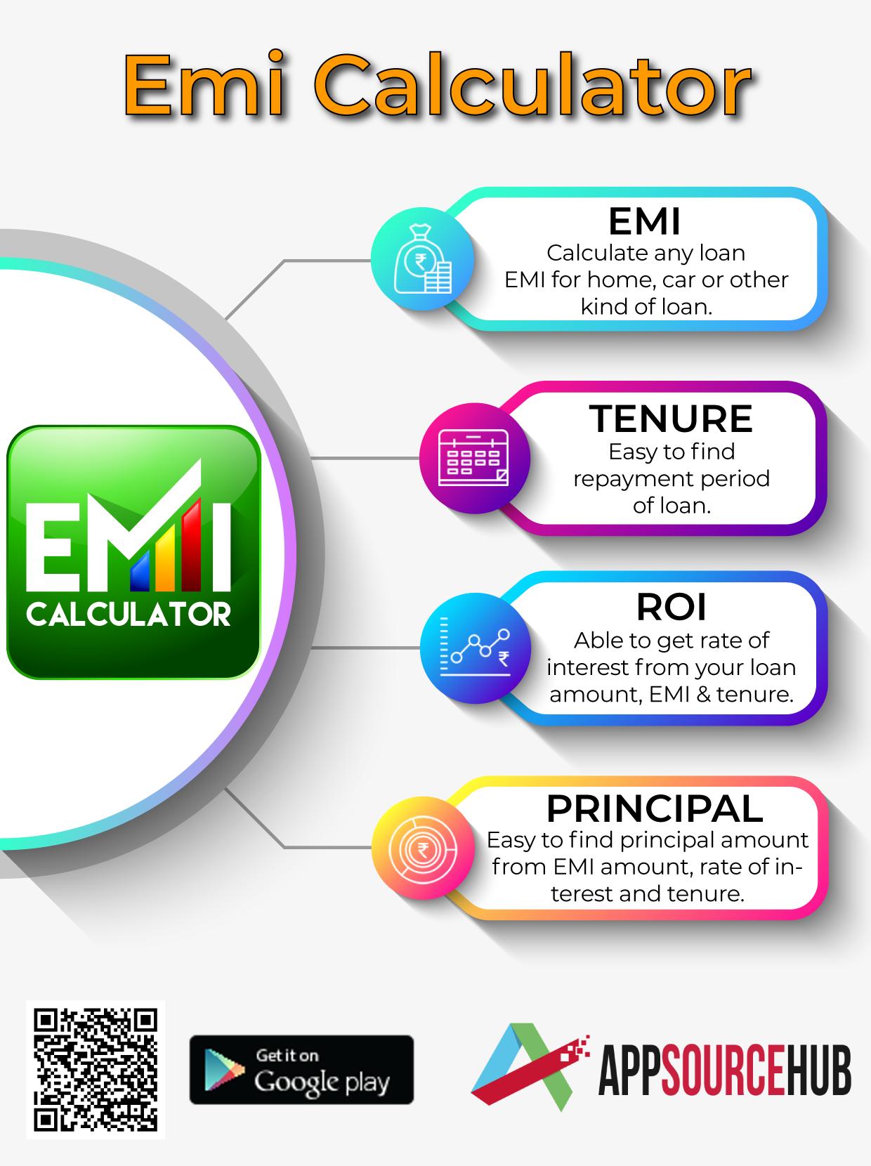 Pin On Emi Calculator App