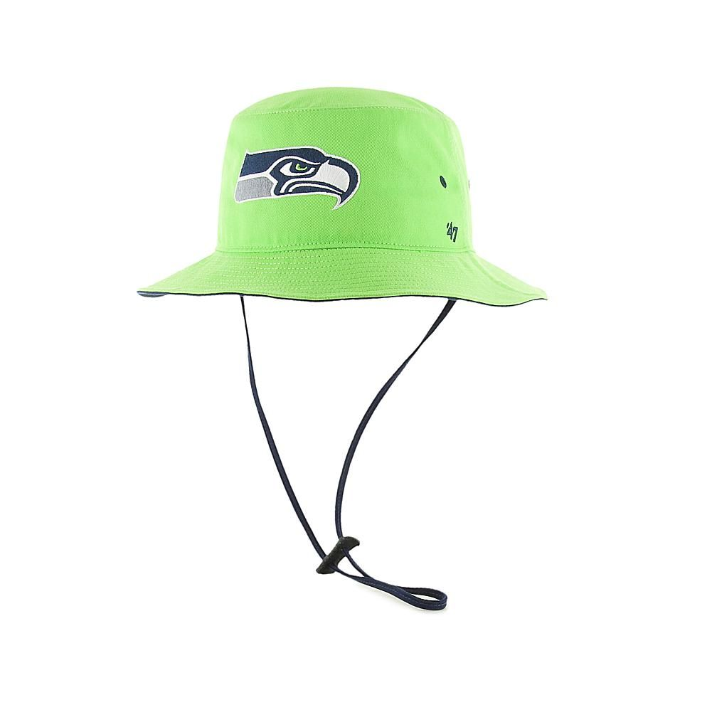 eca13b7a05189 Officially Licensed NFL Kirby Bucket Hat by  47 Brand - Seahawks ...