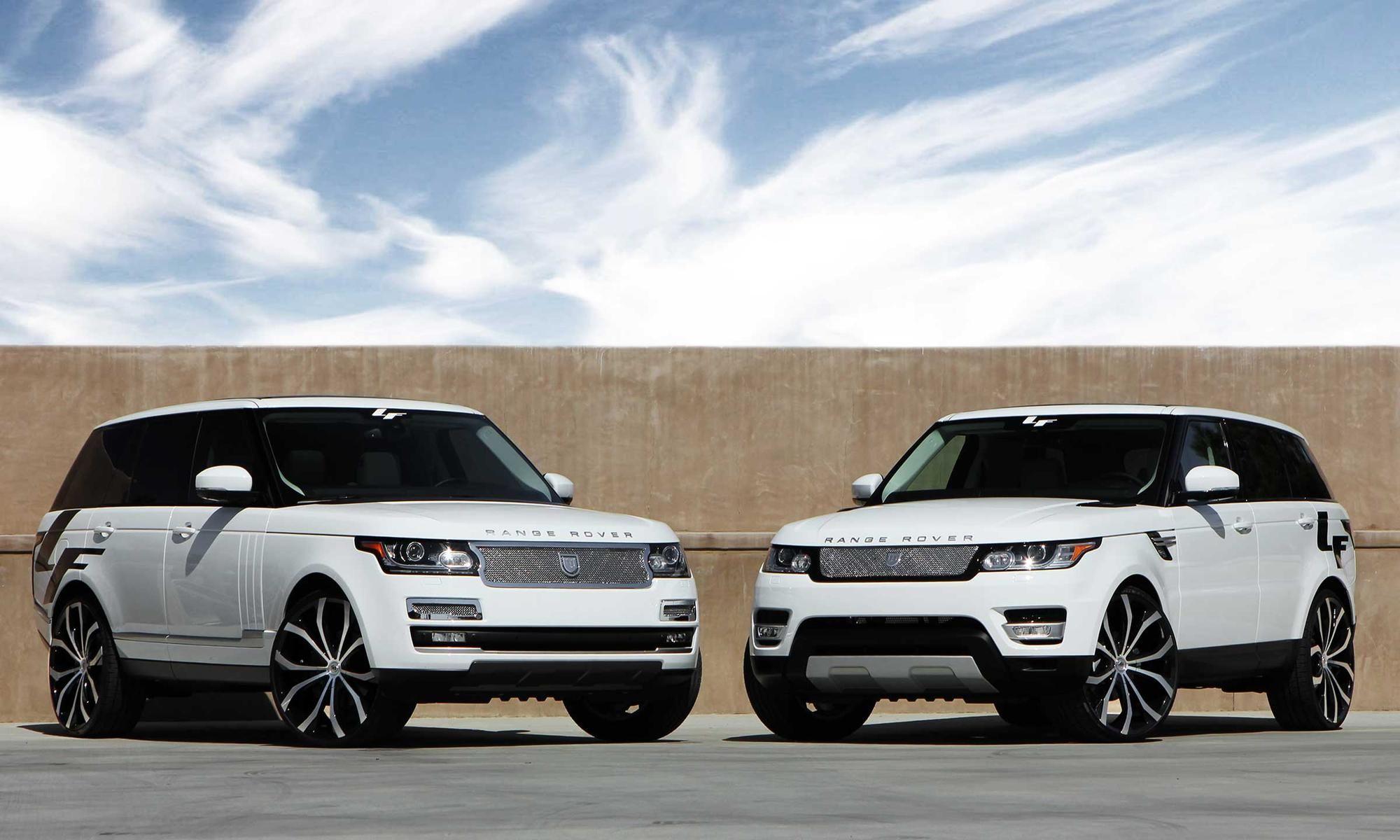 Range rovers twins twinsrange roversporthtml