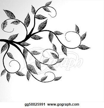 0b1ff5021 Branches Clip Art - Royalty Free - GoGraph | trees n leaves | Art ...