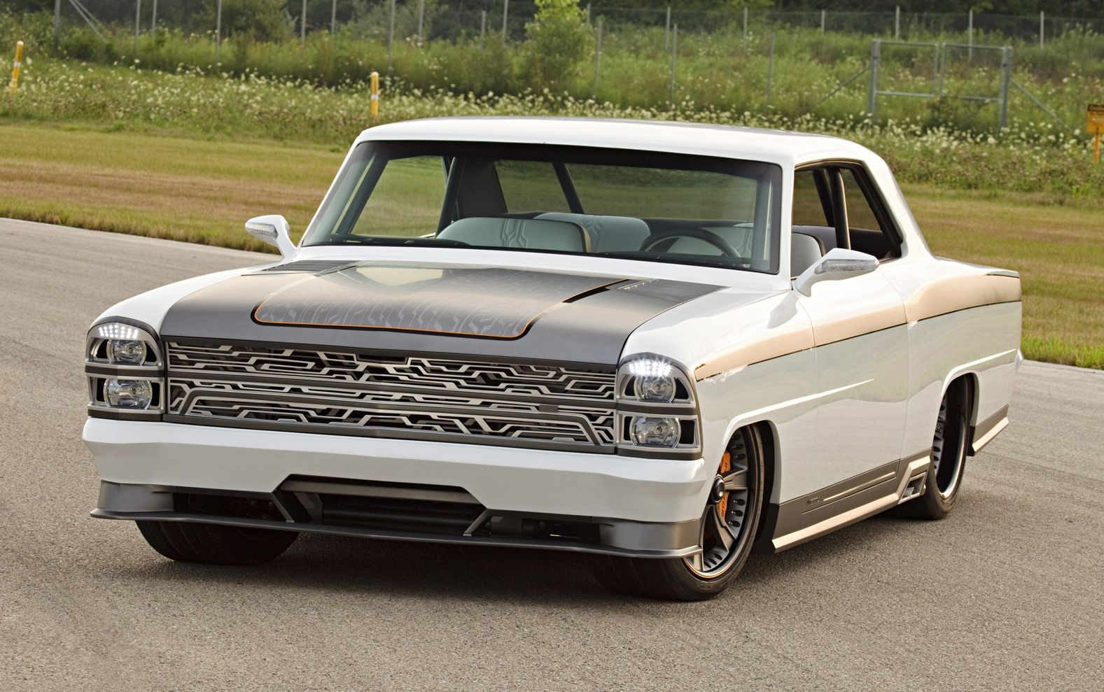 66 chevy nova dash | Custom 72 Nova | hot rods | American