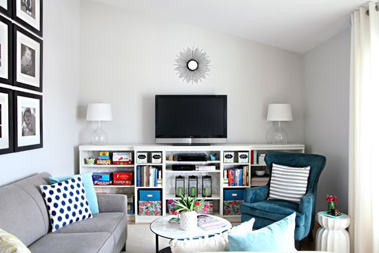 Great Hooked On Navy! Cute Living RoomBig Living RoomsLiving Room IdeasFamily ...