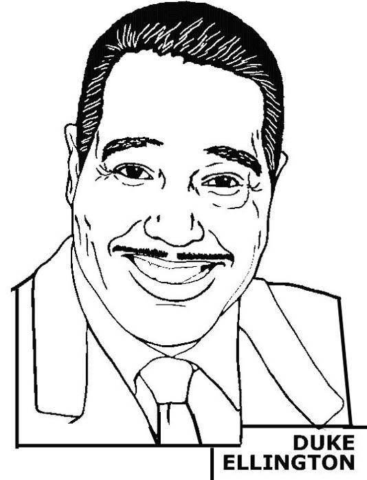 famous black americans coloring pages - photo#11