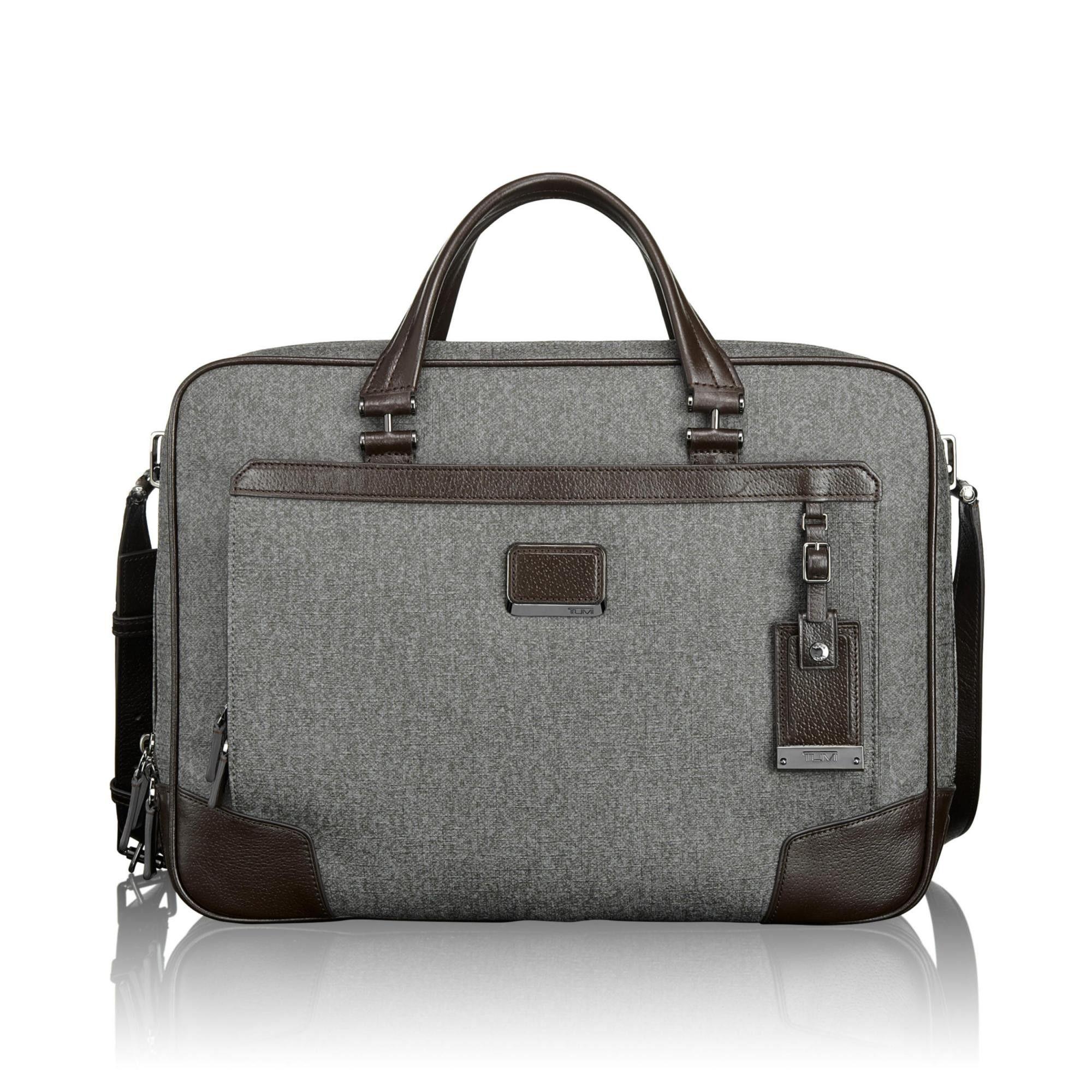 a942b908e4a Tumi Astor Canvas Ansonia Zip Top Brief 033230EG   Luggage Pros ...