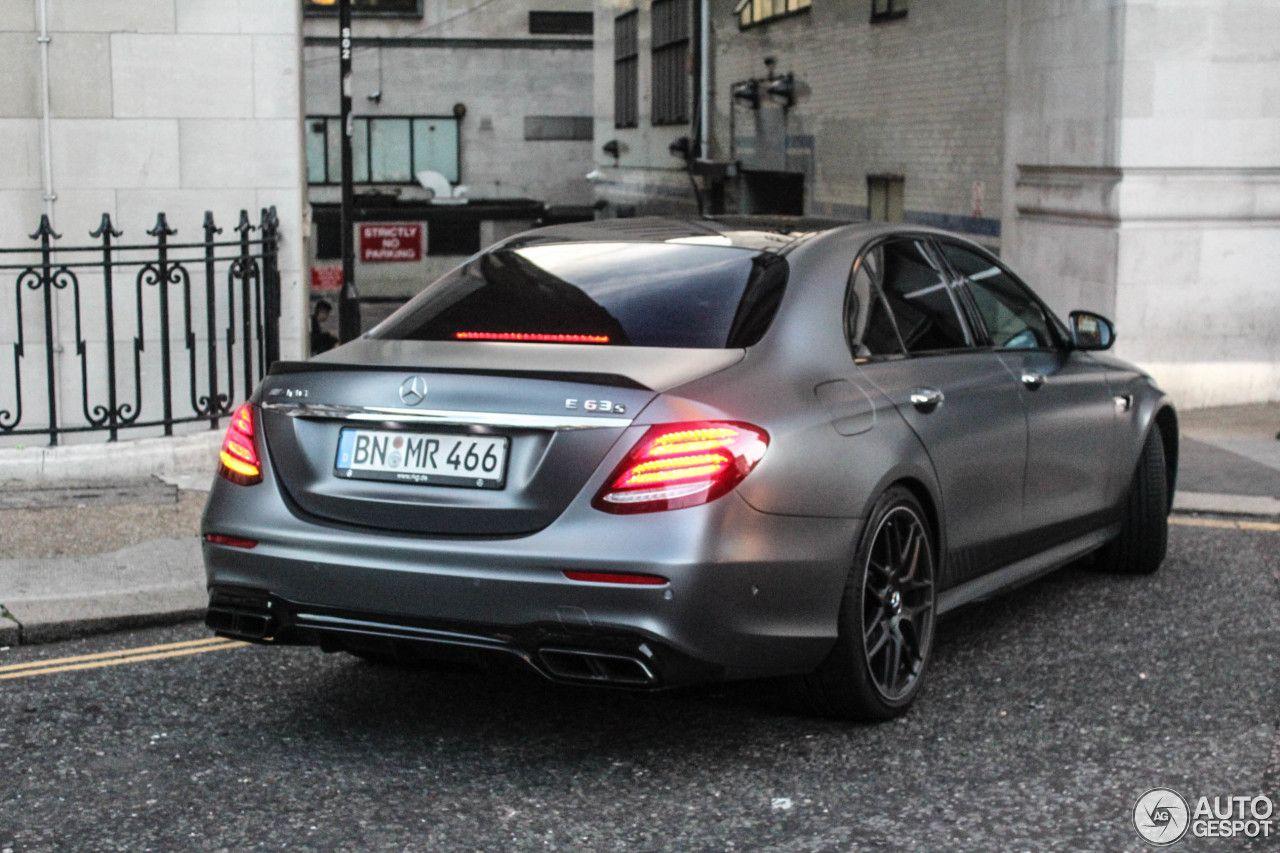 Mercedes-AMG E 63 S W213 Edition 1 | CARS | Mercedes amg, Motor car