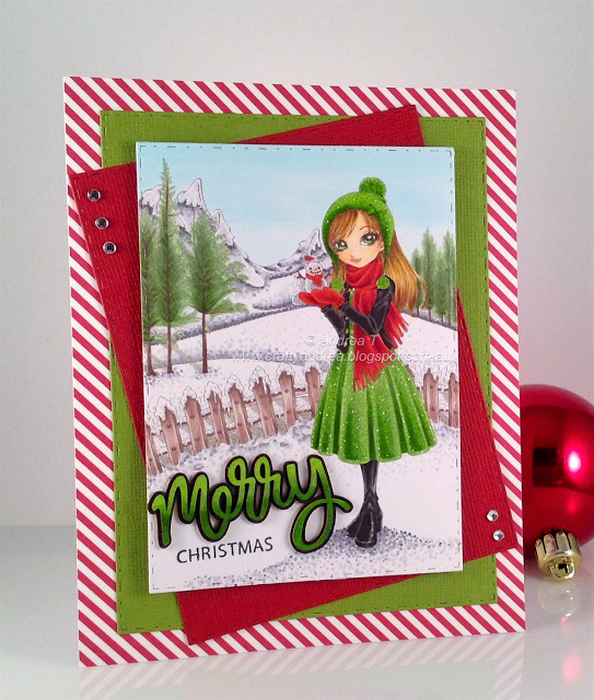 Andrea's Happy Place: Beautiful Neve Winter Christmas Scene