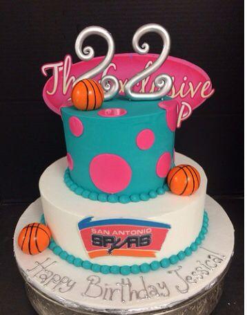 Bday cake idea found on Internet Spurs Pinterest Ideas