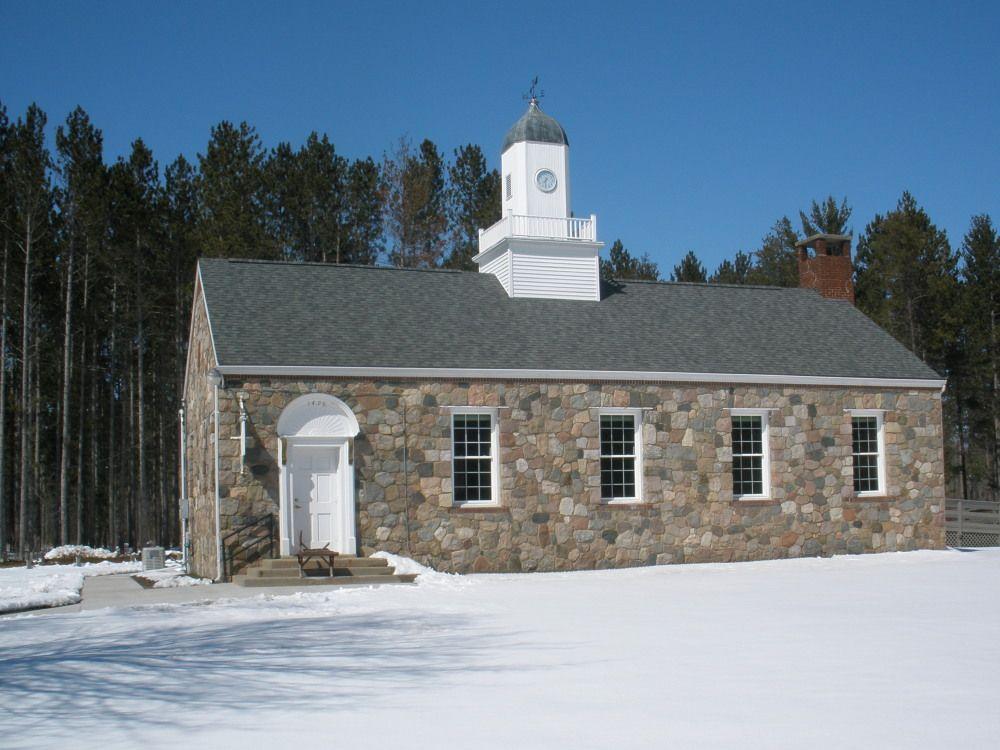 Old Stone Church In Gladwin Michigan Stone Houses Church