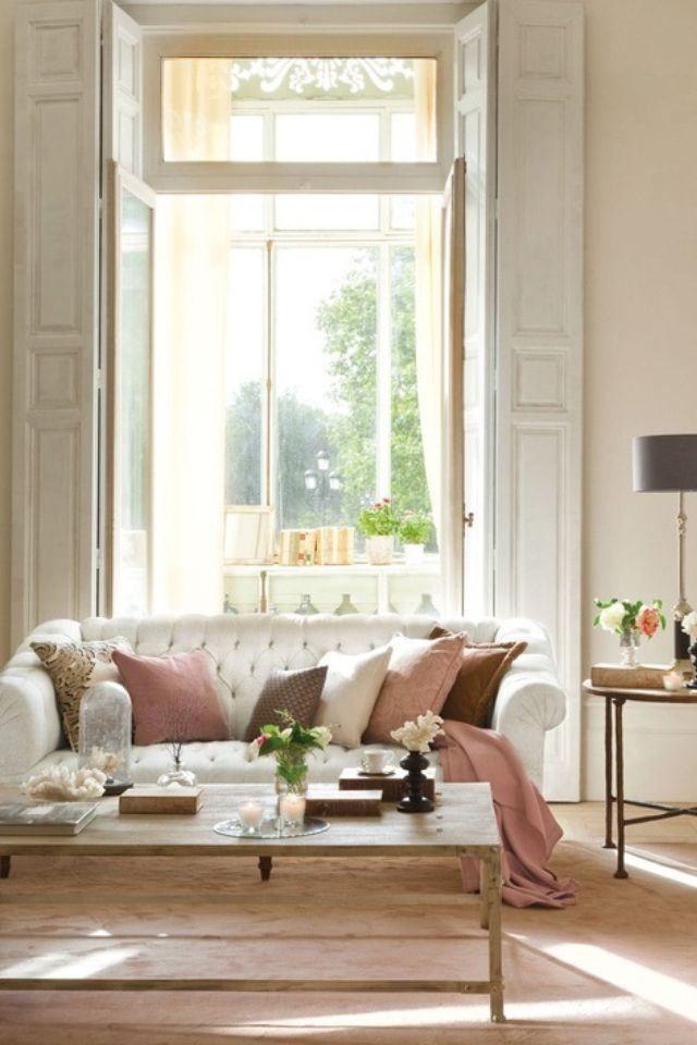 Kleur bekennen: Romantisch interieur | Trendhunters.nl | Living ...