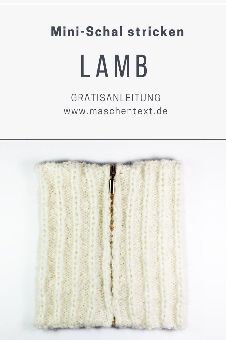 Photo of Mini-Schal stricken: Kostenlose Strickanleitung für einen wärmenden Schal mit …
