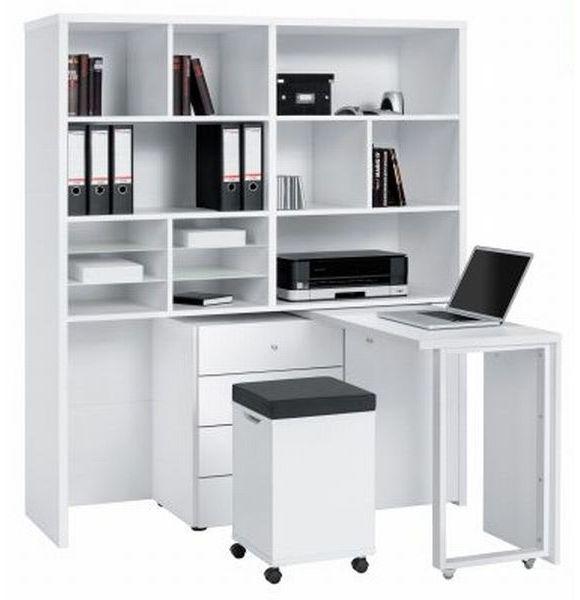 die schreibtischkombination mini office von novel ist praktisch und modern der schreibtisch. Black Bedroom Furniture Sets. Home Design Ideas