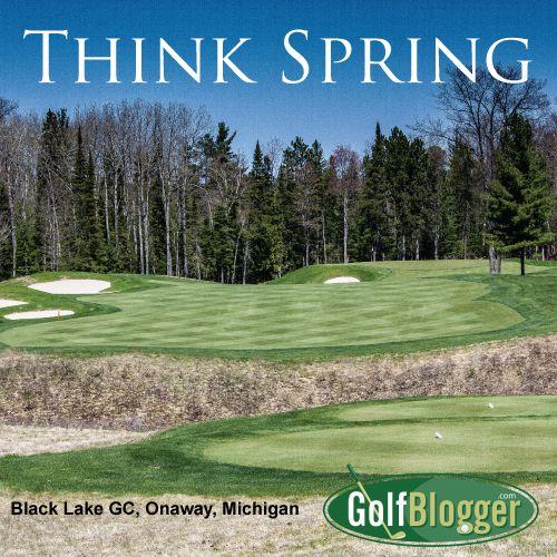 Black Lake Golf Course >> Think Spring Photo Of Black Lake Golf Club Onaway