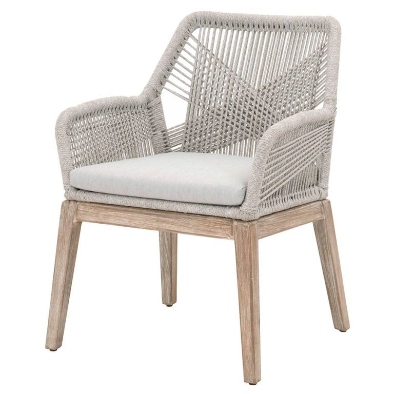 Set Of Two Luca Dove Arm Chairs Dear Keaton Solid Wood Dining Chairs Upholstered Dining Chairs Furniture