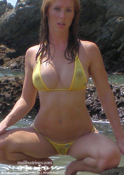 Kimmy malibu strings bikini mexico
