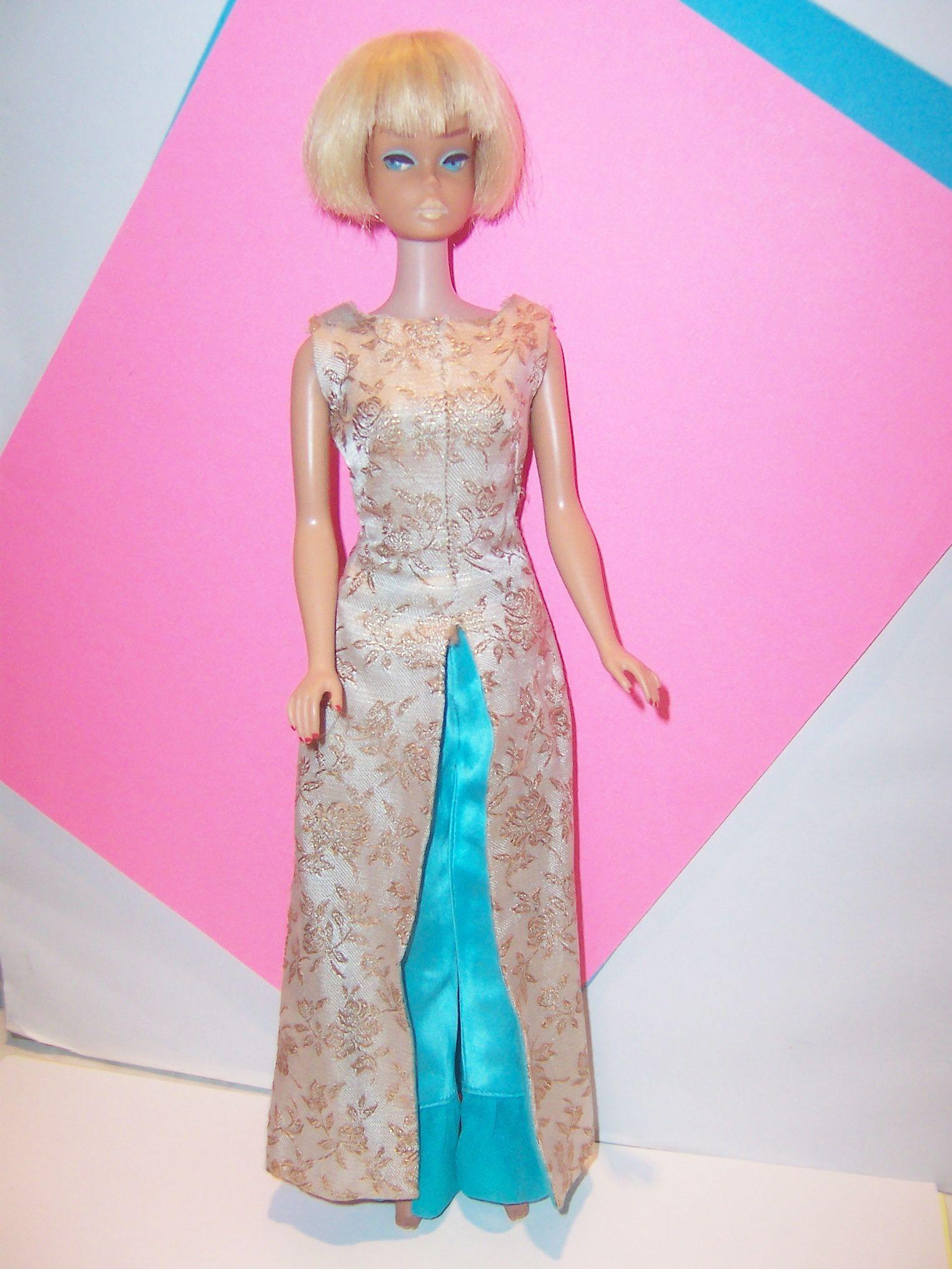American Girl Barbie doll light blonde pageboy in Elegant
