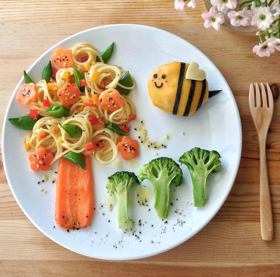 Resultado de imagem para comida criativa infantil