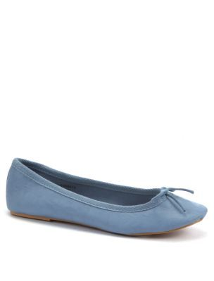 Pale Blue Ballet Pumps