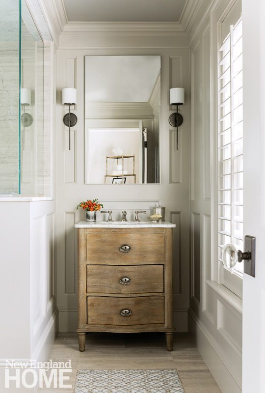 Timeless Transitional New England Home Magazine With Color Palettes Small Space Bathroom Van In 2020 Cheap Bathroom Vanities Small Bathroom Vanities Bathrooms Remodel