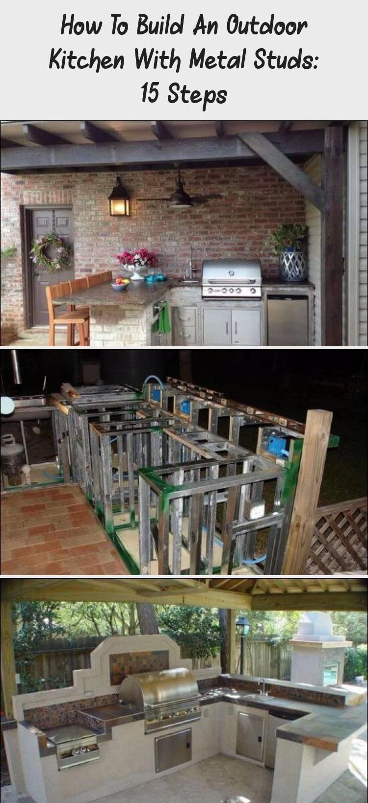 Do You Know How To Build An Outdoor Kitchen With Metal Studs If Not You Re In The Right Place Fo Build Outdoor Kitchen Outdoor Kitchen Plans Outdoor Kitchen