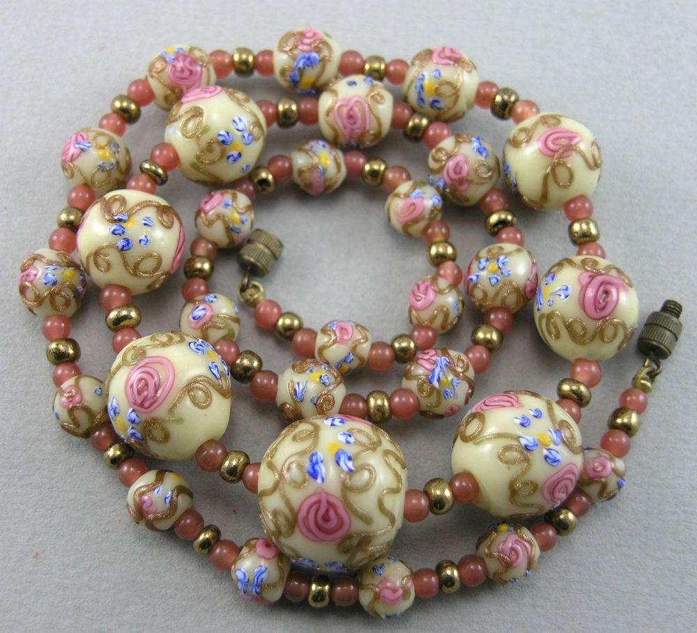 18 Wedding Cake Beads Ideas Beads Glass Beads Beaded Necklace