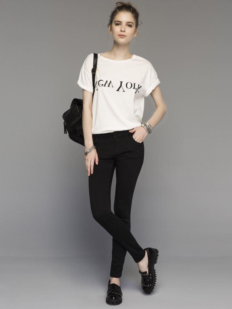 Deri Gorunumlu Jean Pantolon Fashion My Style Black Jeans