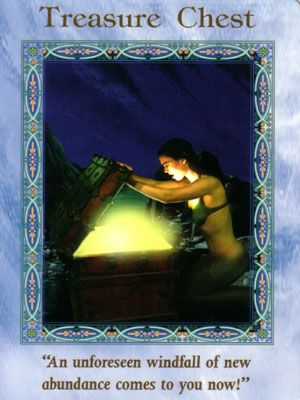 Treasure_Chest - Abundance coming your way! Angel Messenger Free Online Angel Card Readings