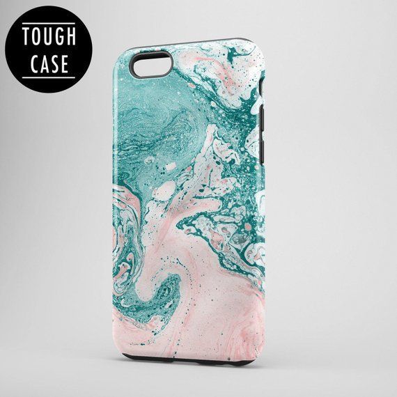 official photos ddc82 3febf Pastel Marble iPhone 8 Case, Marble iphone 8 plus case, Protective ...