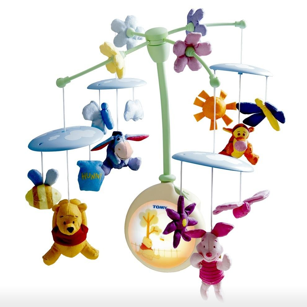 Tomy Toys > 0m-24m > Winnie the Pooh Light-Up Cot Mobile ...