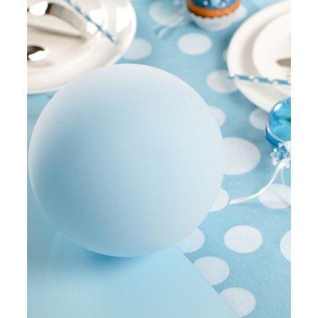 ballons bleu ciel 23 cm les 8 ballons de baudruche