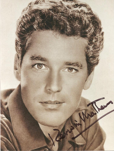 "Kerwin Mathews (1926–2007) American actor best known for playing the titular heroes in The 7th Voyage of Sinbad (1958), The Three Worlds of Gulliver (1960) & Jack the Giant Killer (1962). Although he felt typecast, he ""looked fondly"" on his Hollywood career, with his favorite role being Johann Strauss, Jr. in the Disney two-part telefilm The Waltz King (1963). He died in his sleep in San Francisco in 2007 at the age of 81. He was survived by his partner of 46 years, Tom Nicoll."