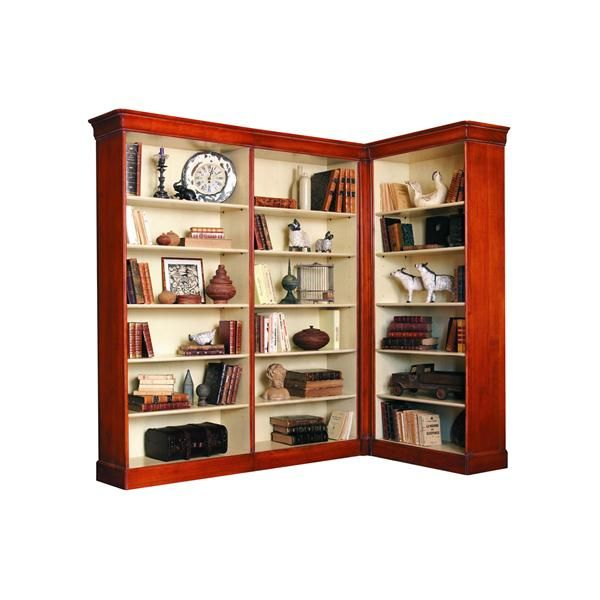 Louis philippe variable width bookcase unit from grange - Grange louis philippe bedroom furniture ...