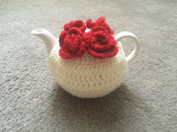 NEWEST tea cozy crochet for a small 1/2 cups by SpecialHandmade444