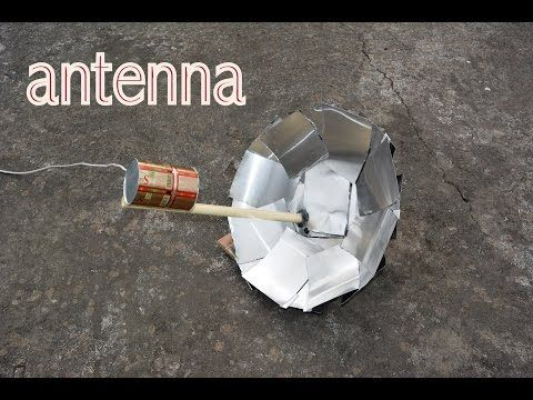 How to build a 4-bay Bowtie Antenna part 2 - YouTube