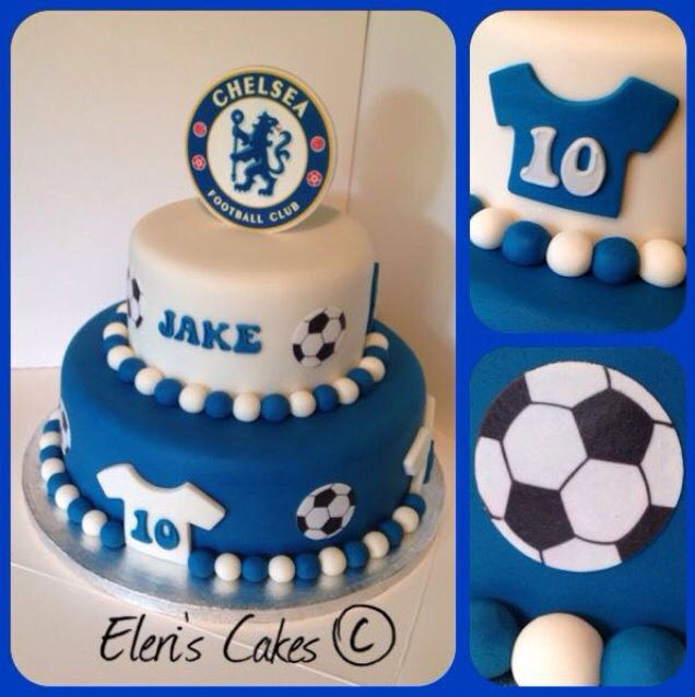 Chelsea Football Cake Chelsea Football Cake Cake Football Cake