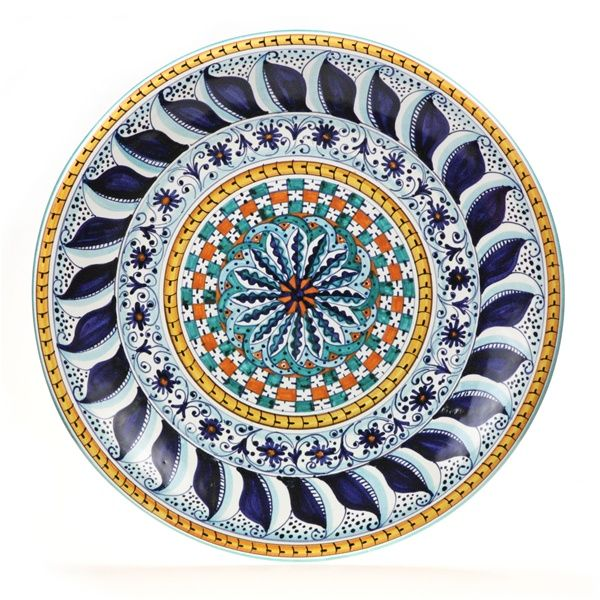 Tuscan Geometric 16\  Large Decorative Plate  sc 1 st  Pinterest & Tuscan Geometric 16\