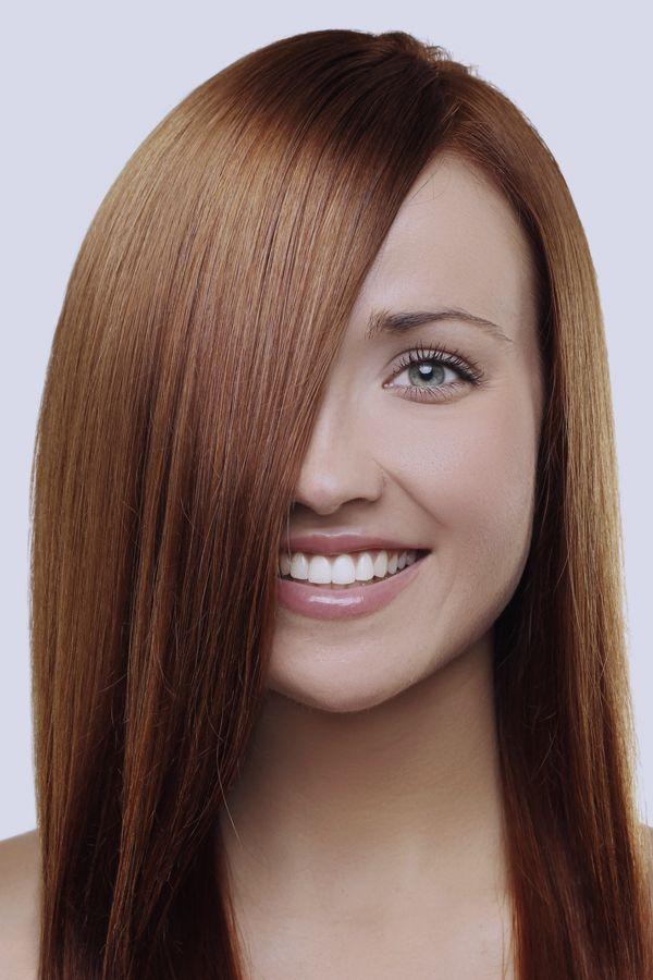 Braune Haare Tipps für Farben & Frisuren Bilder