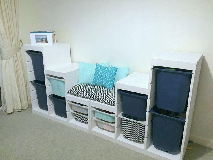 Elegante Ikea Trofast Kinderzimmer Und Sitz Farblich Passend Trofast Kinderzimmer Kinder Zimmer Und Kinderzimmer