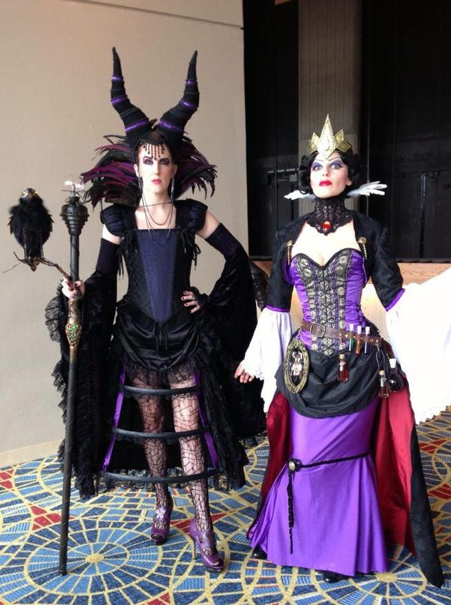 Steampunk Disney Costumes Maleficent and the Evi...