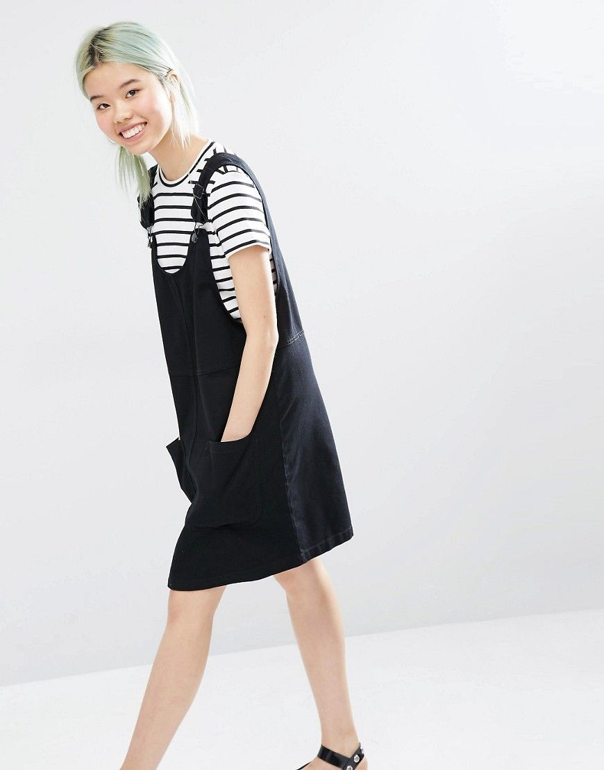 58da90ae6f Image 1 of Monki Denim Dungaree Dress