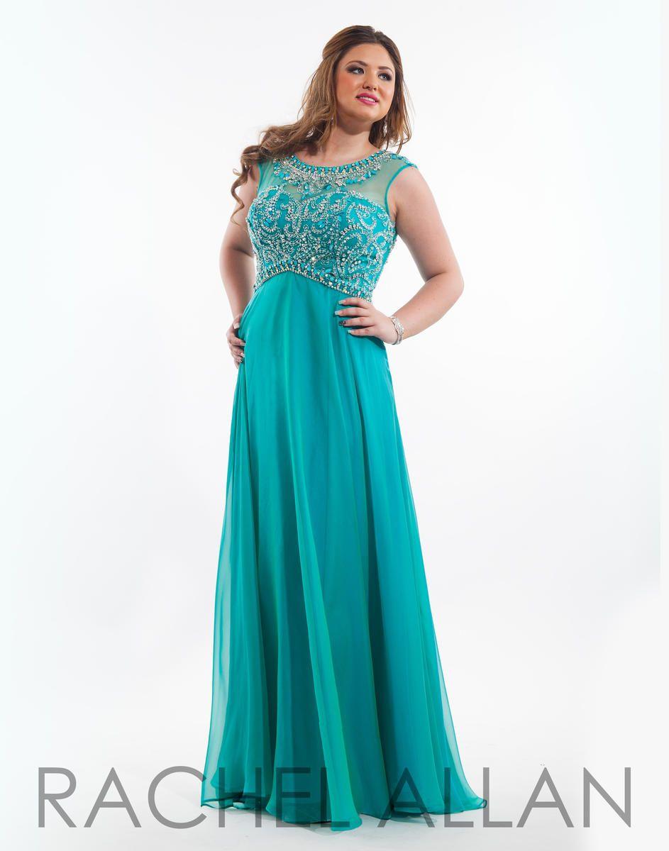 Rachel Allan Plus Size Prom 7025 Rachel Allan Plus Prom Prom Dresses