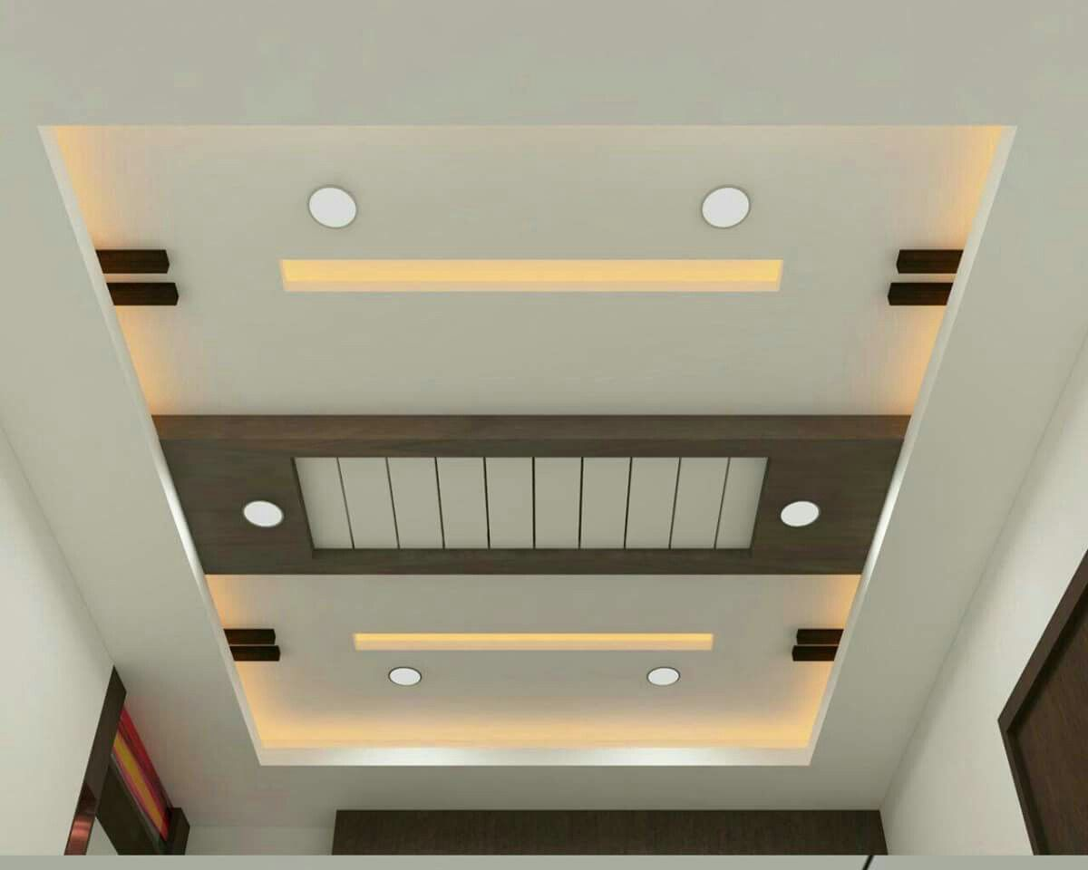 Foto Plafon Ruang Tamu Pop Ceiling Design Fall Celling Gypsum