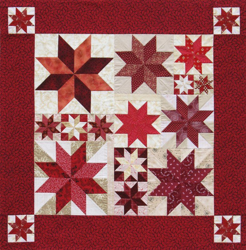 Rapid Fire Lemoyne Star Lemoyne Star Quilt Lemoyne Star Quilt Pattern Star Quilt Patterns