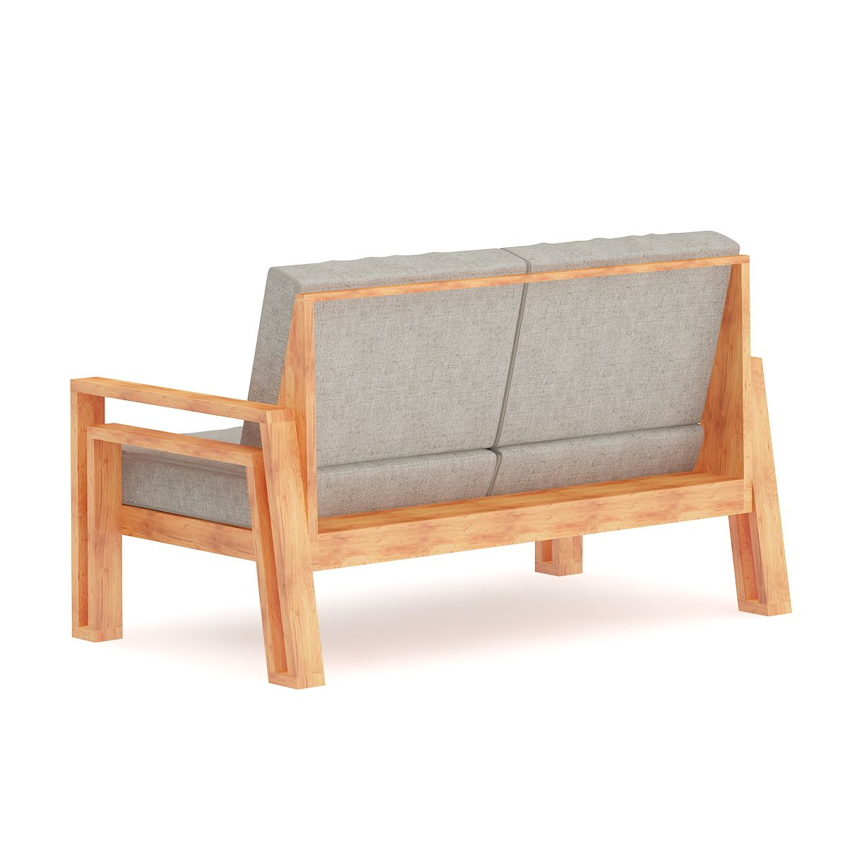 Grey Sofa With Wooden Arms Sofa Grey Arms Wooden