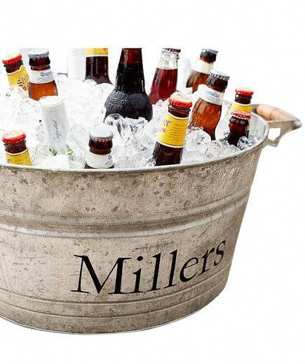 Galvanized Metal Large Party Bucket | Struggling to find ...