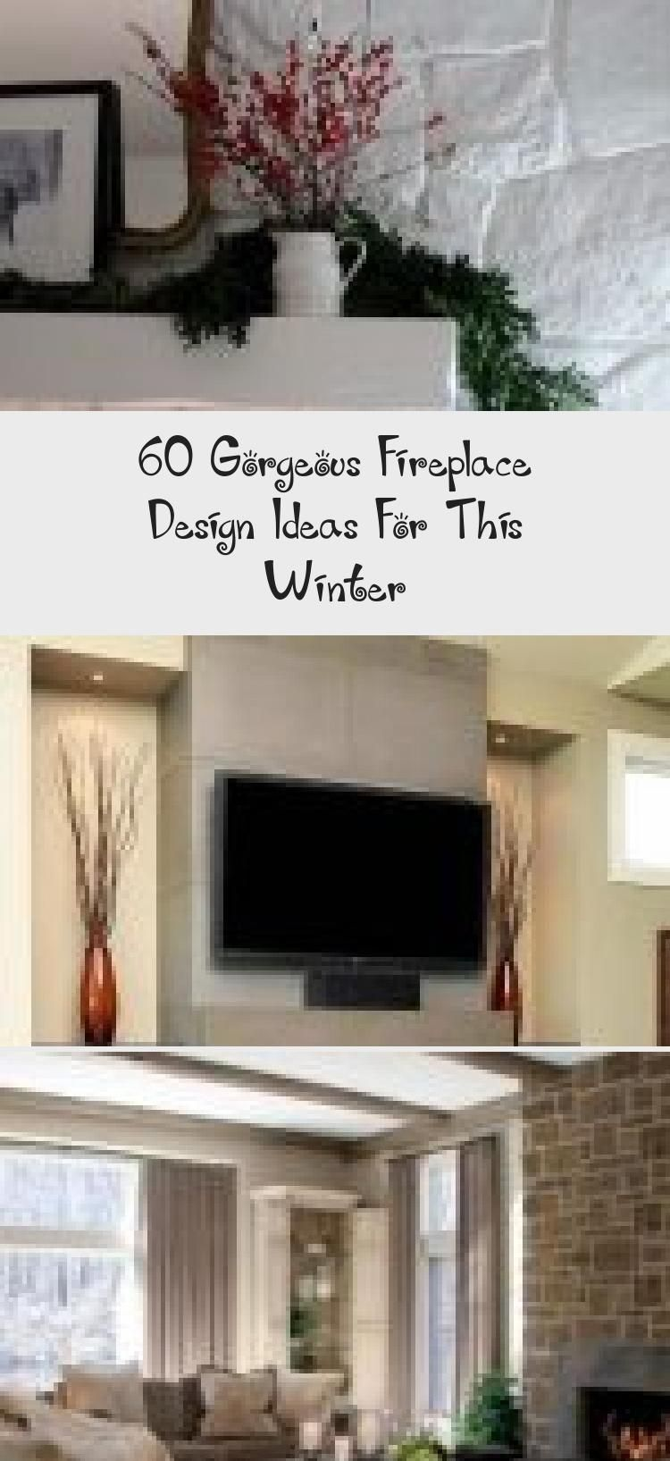 60 Gorgeous Fireplace Design Ideas For This Winter 60 Gorgeous Fireplace Design Ideas For This Winter interior
